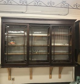 R&F Antique Butler Pantry Upper Cabinet