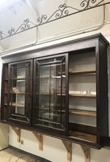R&F Antique Butler Pantry Upper Cabinet