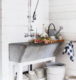 R&F Double Wash Basin Concrete Sink