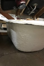 R&F Clawfoot Cast Iron Bathtub
