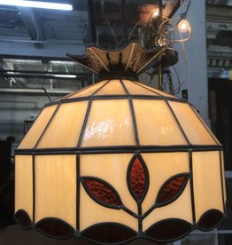 R&F Vintage Stained glass Pendant Light