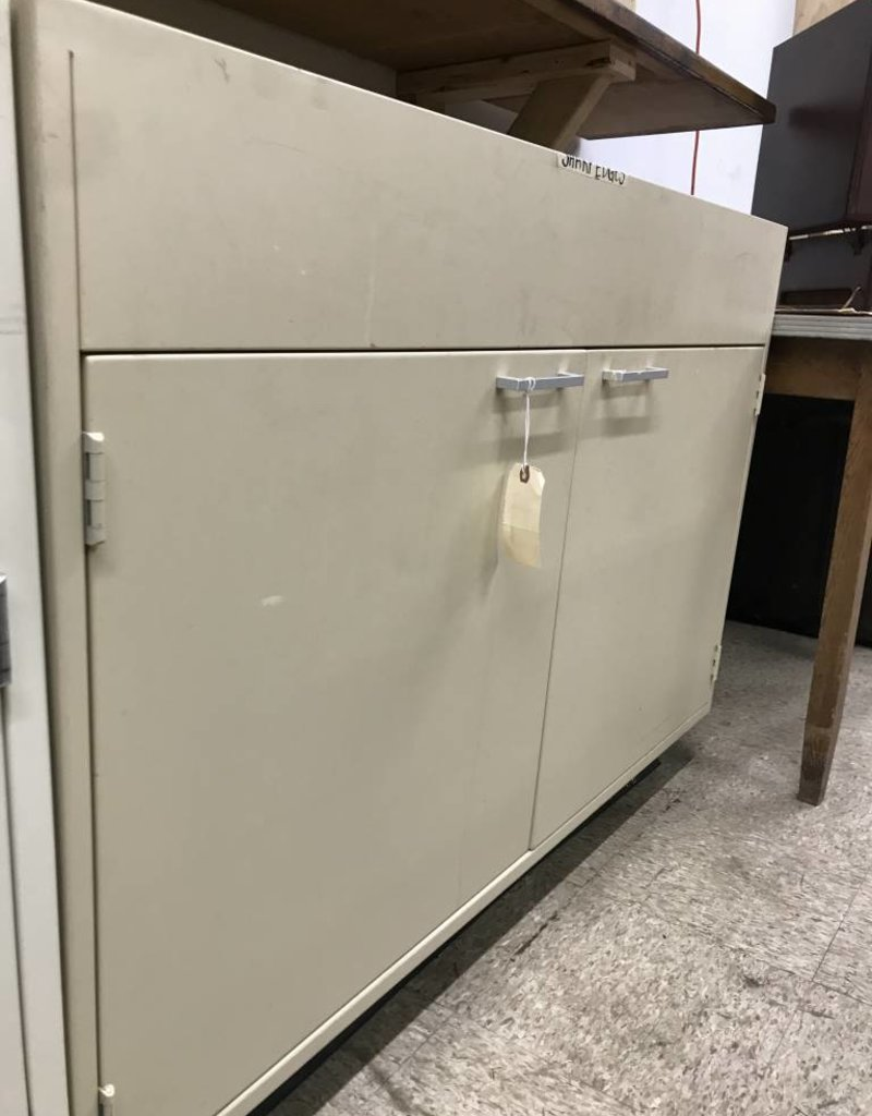 R F Large Lower Metal Cabinet