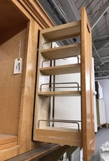 R&F Open Face Cabinet with Spice Rack