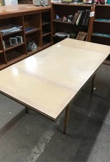 R&F Large Mid century table with extension leaves
