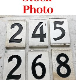 R&F House Number Stock Photo