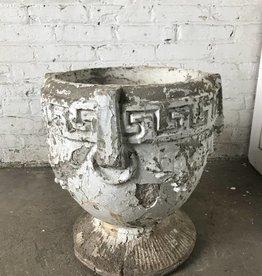 R&F Greek Inspired Concrete Planter