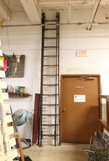 R&F Antique Wooden Extension Ladder