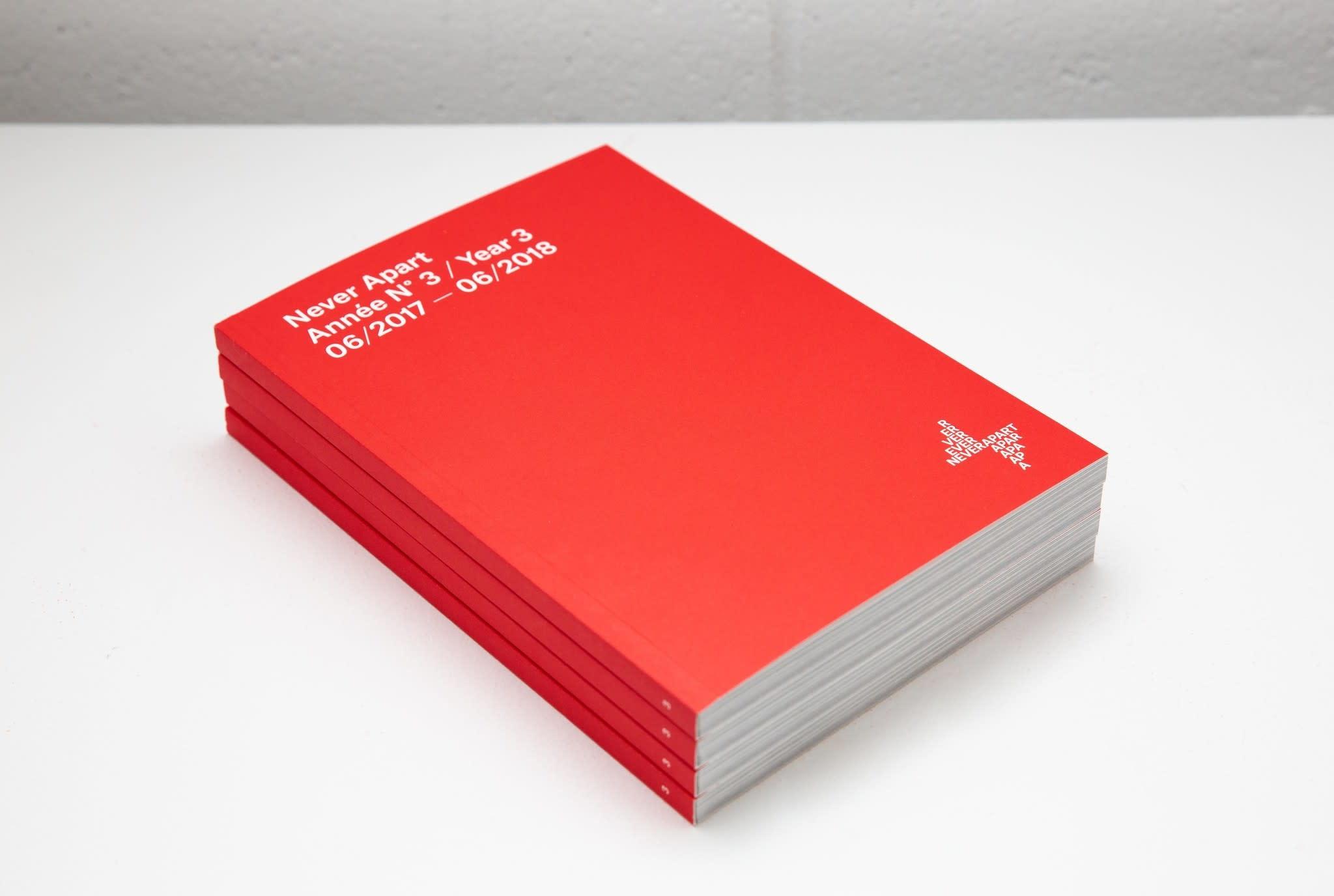 Catalogue Never Apart de l'année 3 (2018)