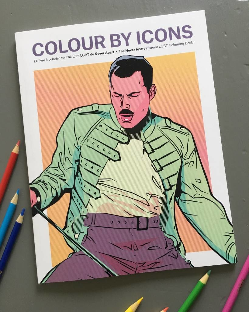 Never Apart Colour By Icons 2.0 Colouring Book