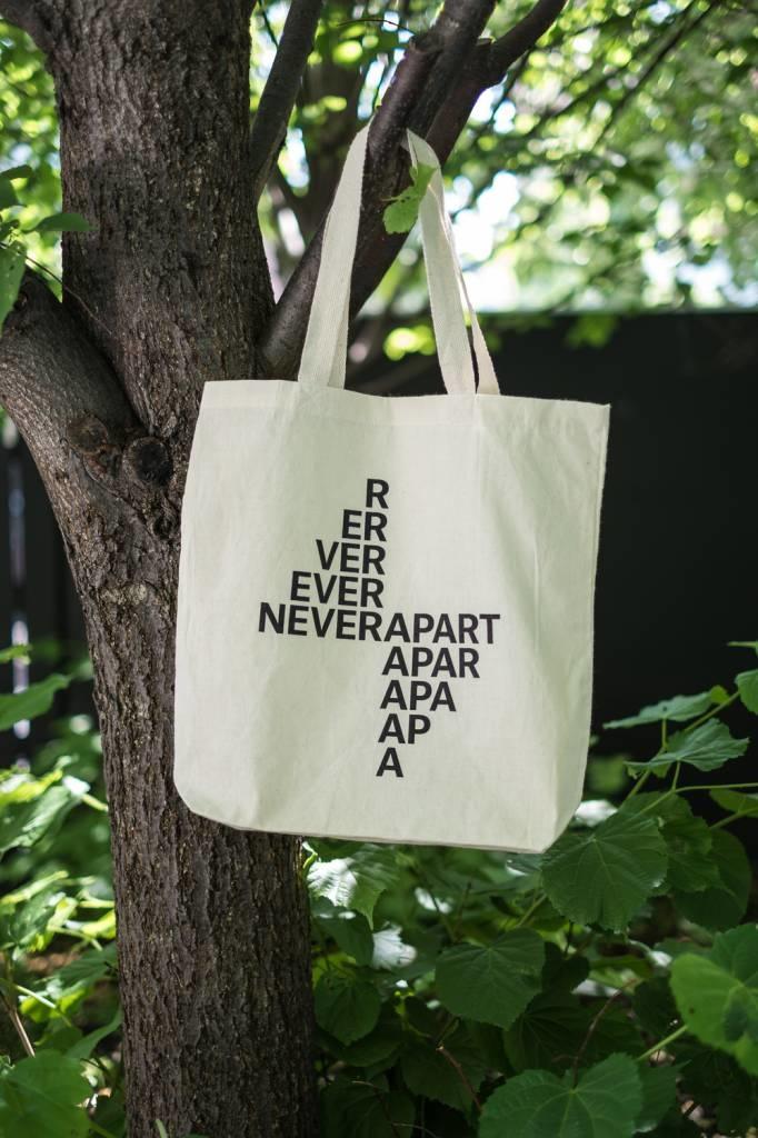 Never Apart Never Apart Tote Bag