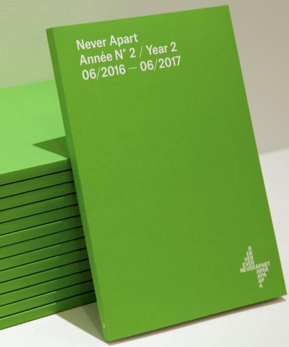 Never Apart Catalogue Never Apart de l'année 2 (2017)