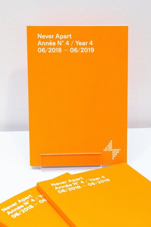 Catalogue Never Apart de l'année 4