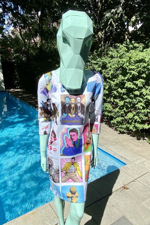 Colour By Icons 1.0 Dress