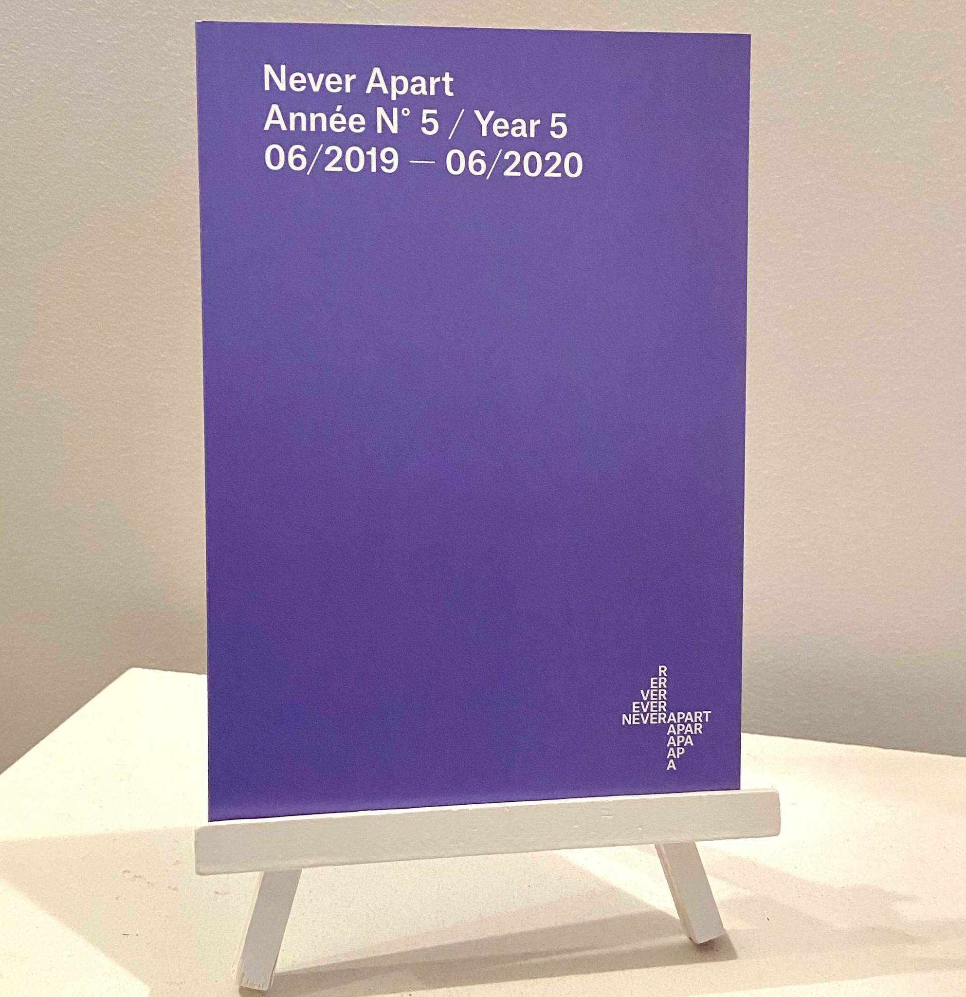 Catalogue Never Apart de l'année 5 (2020)