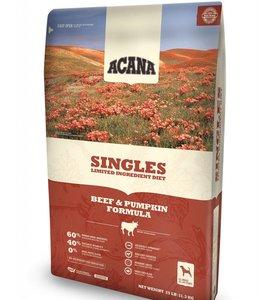 Acana Dog Singles Beef & Pumpkin Formula 25lbs