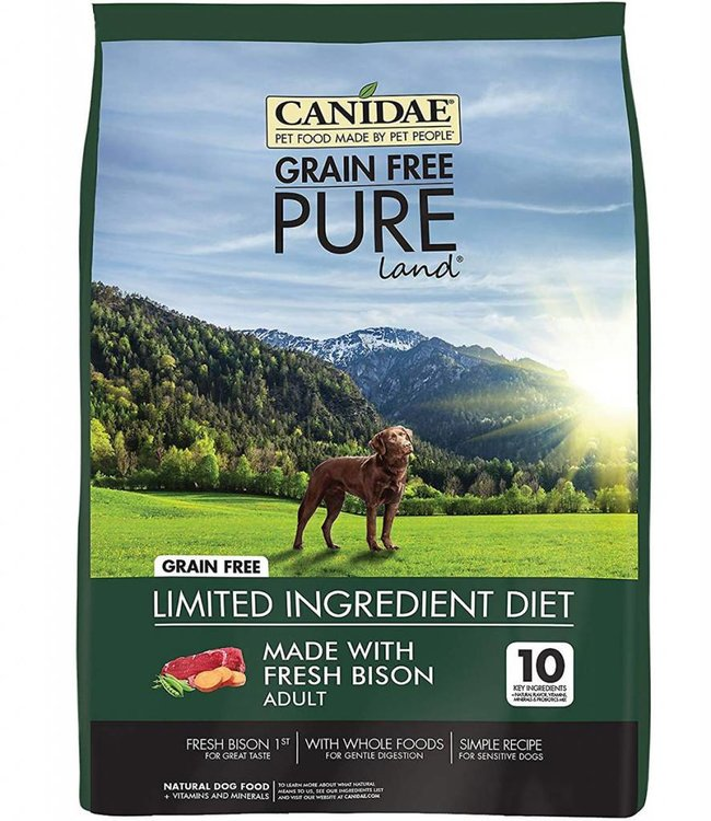 Canidae Dog Pure Land Bison 21lbs