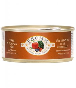 Fromm Cat Four-Star Turkey & Pumpkin Pate 5.5oz
