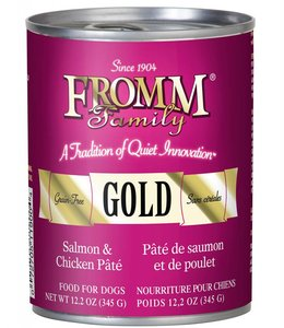 Fromm Dog Gold Salmon & Chicken Pate 12.2oz