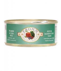 Fromm Cat Four-Star Salmon & Tuna Pate 5.5oz