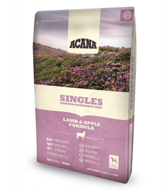 Acana Acana Dog Singles Lamb & Apple Formula 13lbs