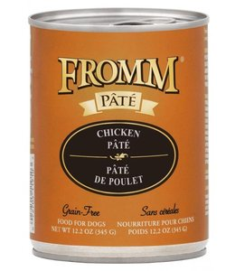 Fromm Dog Chicken Pate Grain-Free 12.2oz