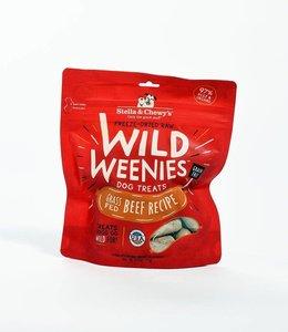 Stella & Chewy's 3.25 oz Freeze Dried Wild Weenies Grass Fed Beef Recipe