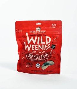 Stella & Chewy's 3.25oz Freeze Dried Wild Weenies Grass Fed Red Meat Recipe  Dog Treat