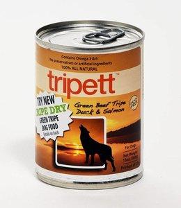 Tripett Green Beef Tripe Duck & Salmon 13oz