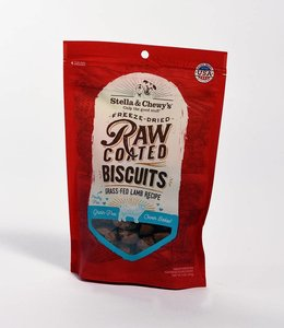 Stella & Chewy's 9oz Raw Coated Biscuits Lamb