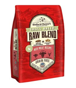 Stella & Chewy's 3.5lb Small Breed Raw Blend Red Meat Recipe Beef, Lamb, Venison