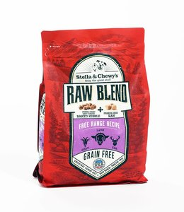 Stella & Chewy's 3.5lbs Raw Blend Free Range Recipe Lamb, Goat, Elk