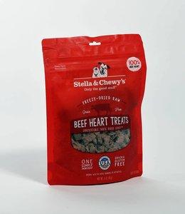 Stella & Chewy's 3oz Freeze-Dried Raw Beef Heart Treats