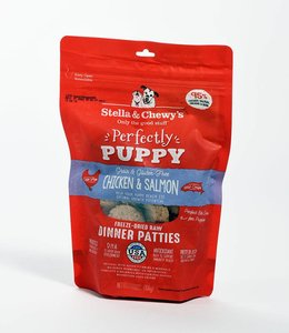Stella & Chewy's 14oz Perfectly Puppy Freeze-Dried Raw Chicken & Salmon Dinner Patties