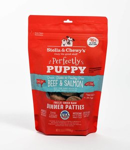Stella & Chewy's 14oz Perfectly Puppy Freeze-Dried Raw Beef & Salmon Dinner Patties
