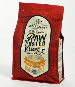 Stella & Chewy's 4.5lbs Freeze-Dried Raw Coated Kibble Chicken Recipe
