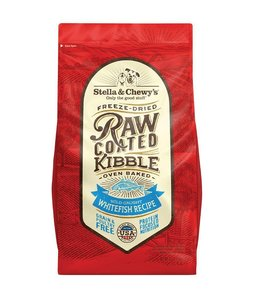 Stella & Chewy's 22lbs Freeze-Dried Raw Coated Kibble Whitefish Recipe