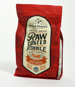 Stella & Chewy's 22lbs Freeze-Dried Raw Coated Kibble Beef Recipe
