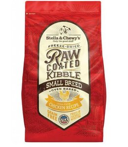 Stella & Chewy's 10lbs Freeze-Dried Raw Coated Kibble Small Breed Chicken Recipe