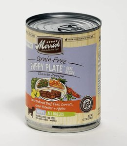 Merrick Puppy Plate Beef  Recipe 13 oz