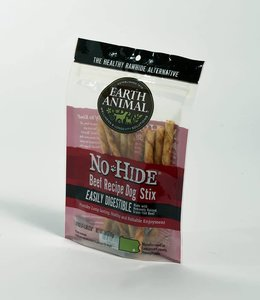 Earth Animal 10 Pack No Hide Beef Stix