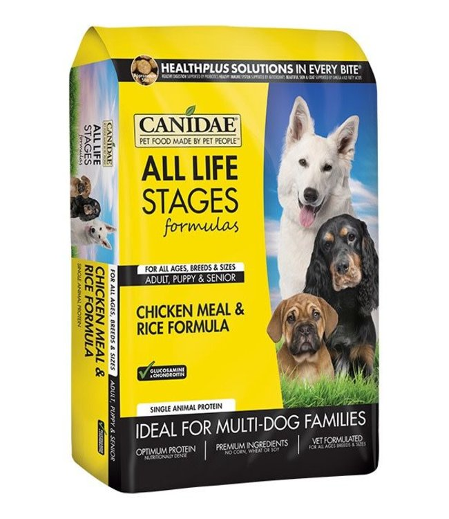 Canidae All Life Stages Chicken & Rice 44lbs
