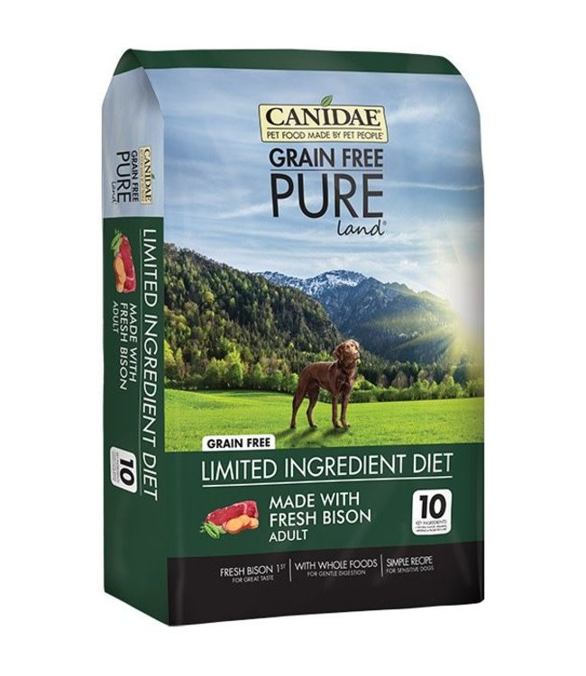 Canidae Pure Land Bison 10lbs