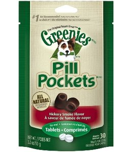 Greenies Pills Pockets Hickory Smoked 30ct Tablets