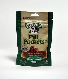 Greenies Pills Pockets Peanut Butter 30ct Tablets