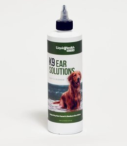 Liquid Health K9 Ear Solution 12oz