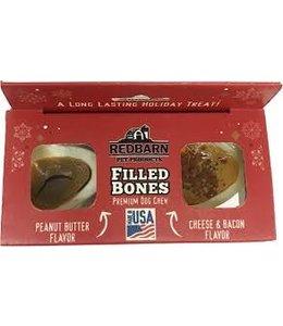 Redbarn Filled Bones 2pk