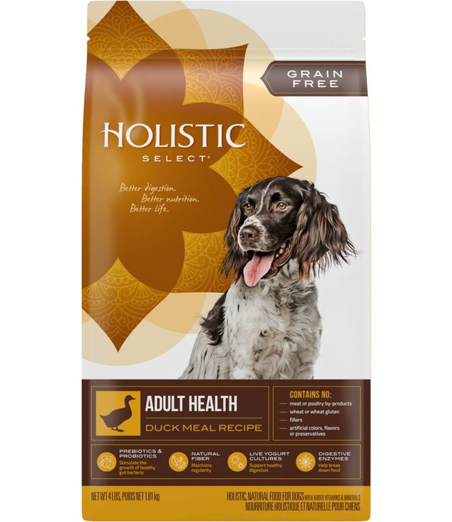 Holistic Select Adult Health Duck Meal Recipe 24lbs