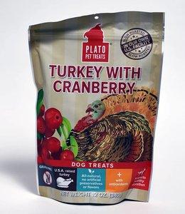 Plato Turkey With Cranberry Dog Treats 12oz
