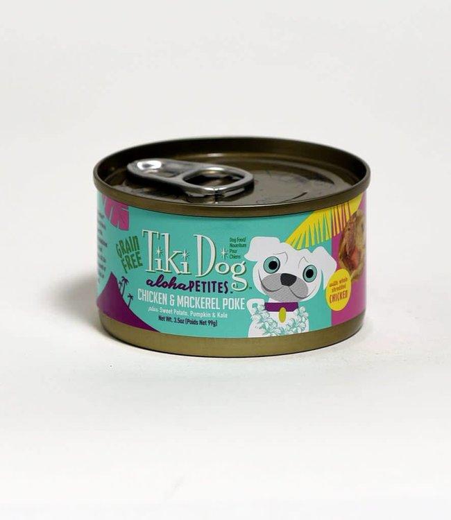 Tiki Aloha Petites Chicken & Mackerel Poke 3.5oz
