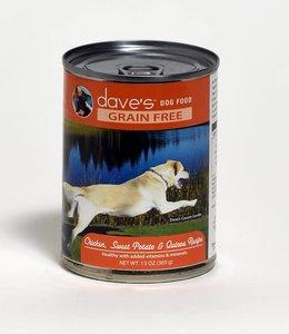 Dave's Pet Food Chicken, Sweet Potato & Quinoa Grain Free 13oz